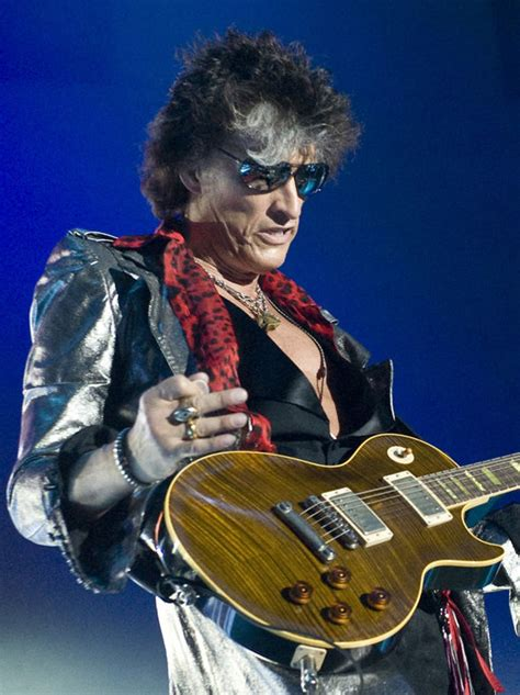 Aerosmith guitarist Joe Perry stable in hospital after