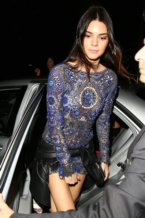 Kendall Jenner (she almost looks her age in this photo) 15