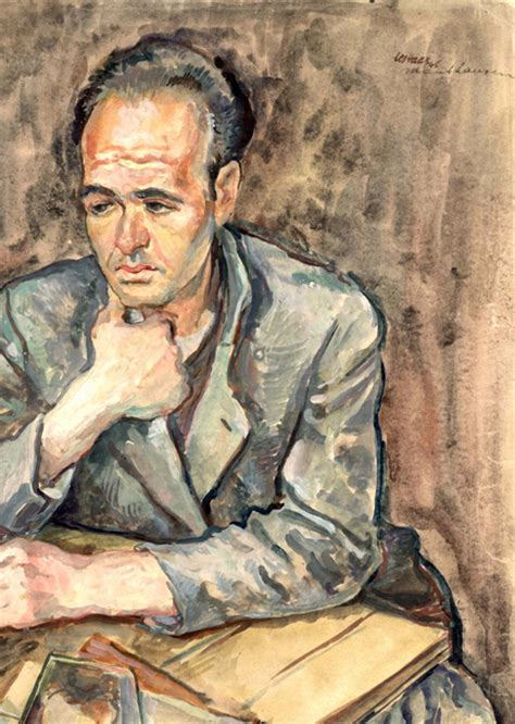 Leo (Lev) Haas - Last Portrait: Painting for Posterity