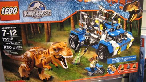 Official 'Jurassic World' Lego Playsets Are Coming