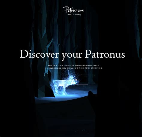 What Is Your Patronus? Find Out on Pottermore (Finally