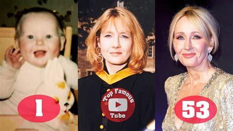JK Rowling | 'Harry Potter' Author | Transformation From 1