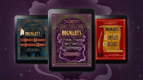 Pottermore Presents Short Stories from Hogwarts - Geek