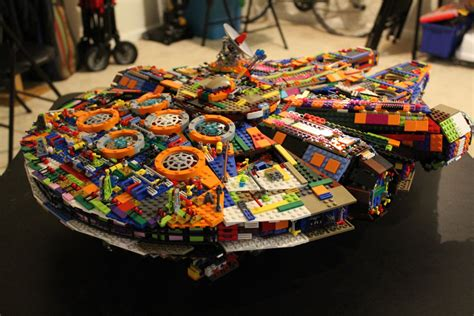 Multicolored LEGO UCS Millennium Falcon Is Bold, Loud And