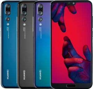 Huawei P20 Pro DualSim 128GB LTE Android Smartphone 6,1