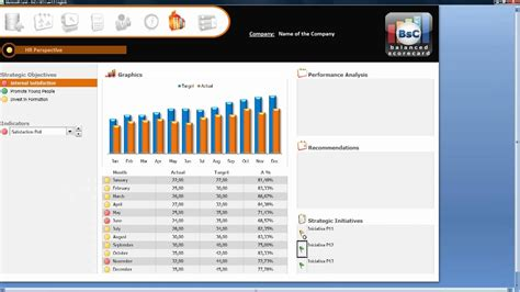 Demo : Design with Excel your Dashboard / Balanced
