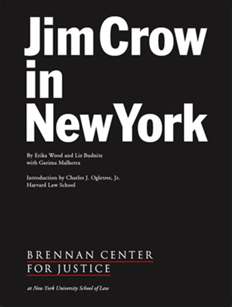 Jim Crow in New York | Brennan Center for Justice