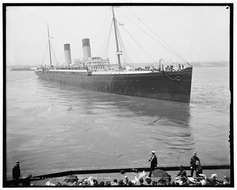 White Star Line's Majestic (1890) was launched at the