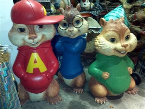 Alvin And The Chipmunks Theater Lobby Display « Obnoxious