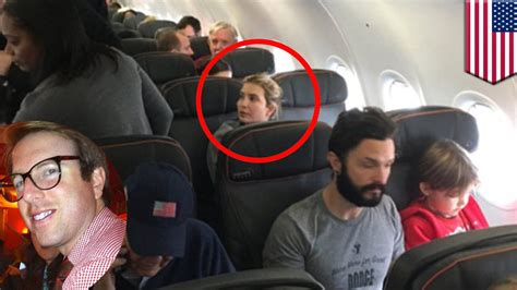 Ivanka Trump confronted by angry passenger on JetBlue