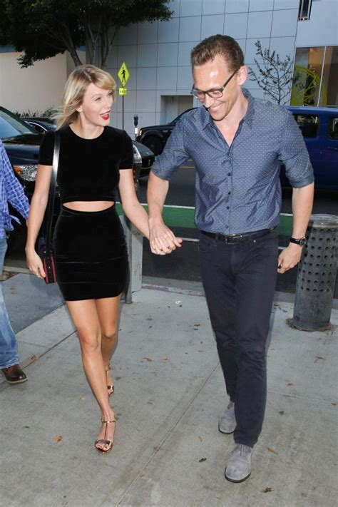 Taylor Swift Sports a Sexy Velvet LBD for Date Night With