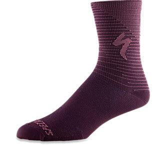 Ponožky SPECIALIZED Soft Air Road Tall Sock Cast Berry