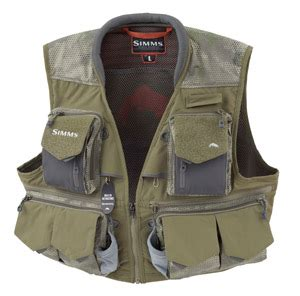 Simms Guide Vest - Hex Camo Loden - The Fly Shack Fly Fishing